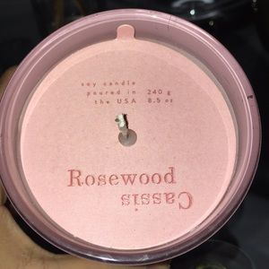 Cassis RoseWood Candle